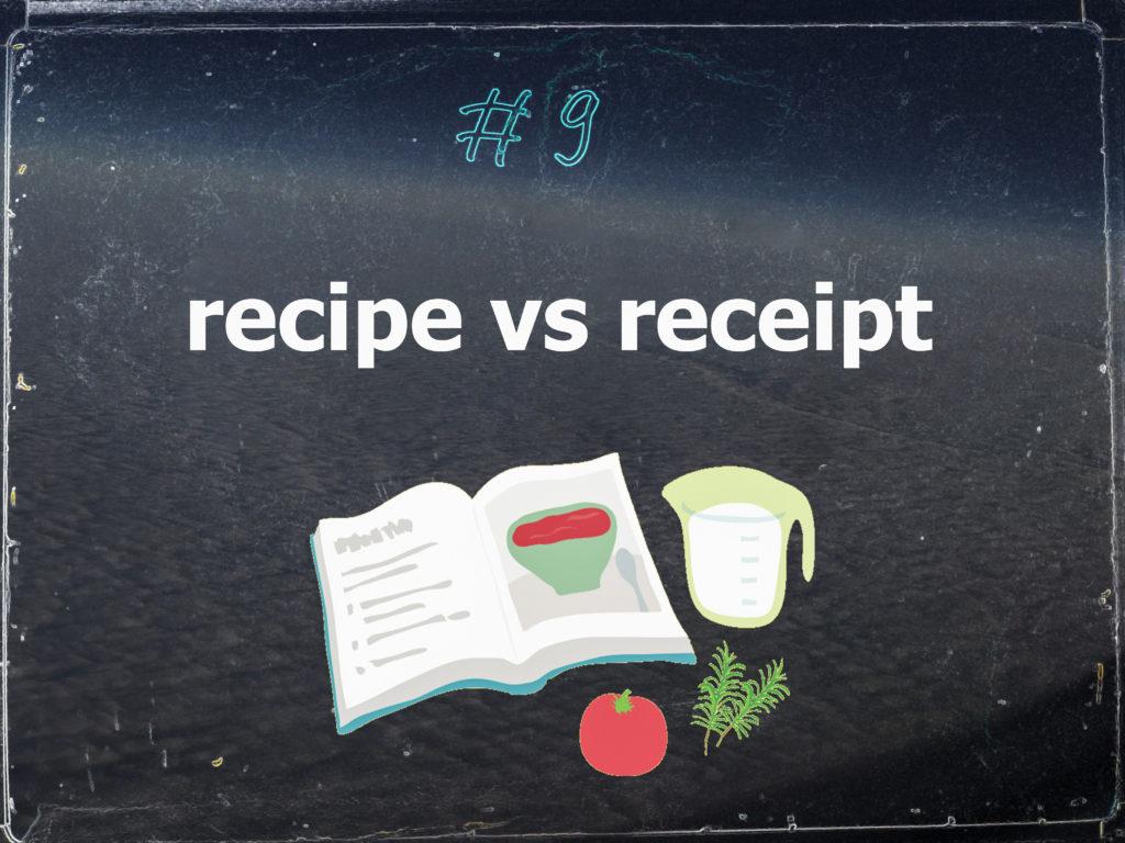 Правильный перевод и произношение слова «рецепт»