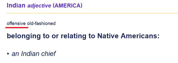 Native Americans – не носители английского? Правильный перевод