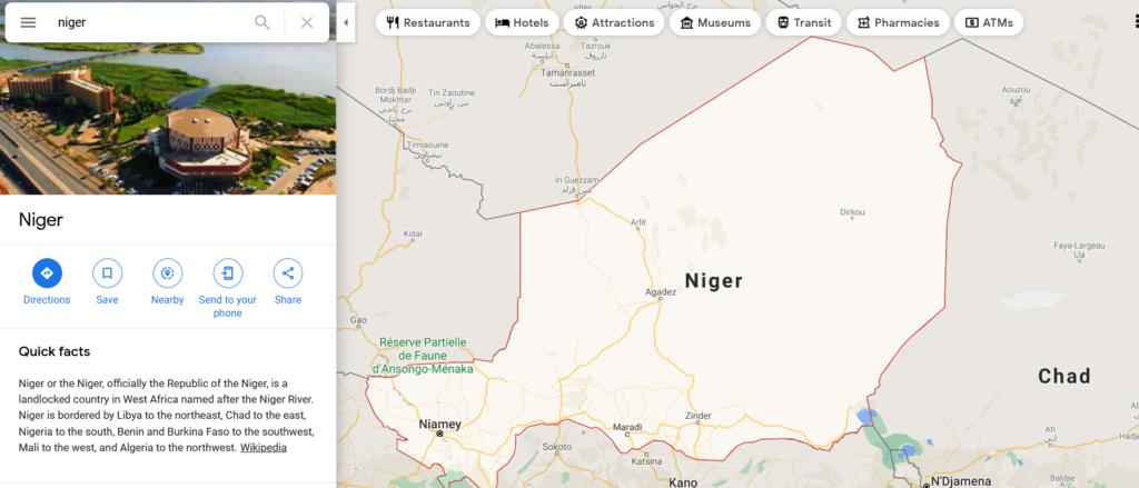 Нигер страна правильное произношение